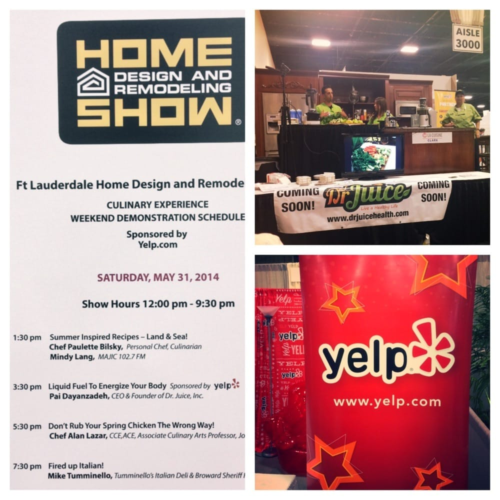 Thank You Yelp For The Sponsorship With Dr Juice For The Live Juicing Smoothie Demo Yelp