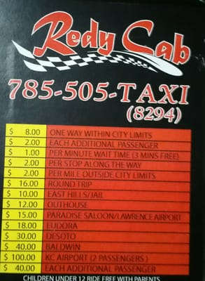 Redy Cab 4901 Stoneback Dr Lawrence Ks Taxis Mapquest