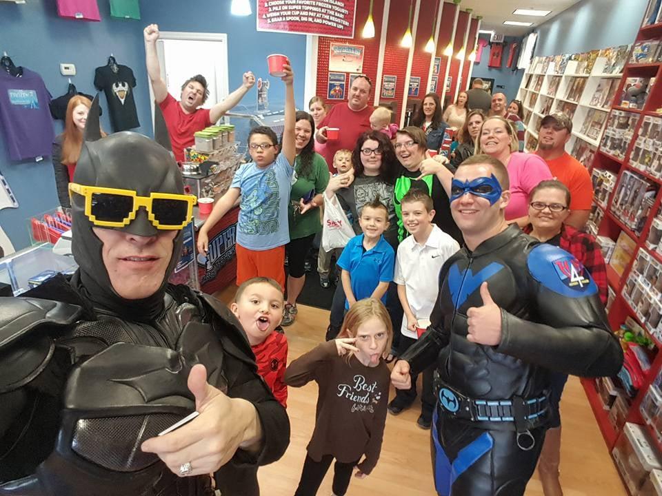 Superhero Creamery & T-Shirt Factory: 415 Diederich Blvd, Russell, KY