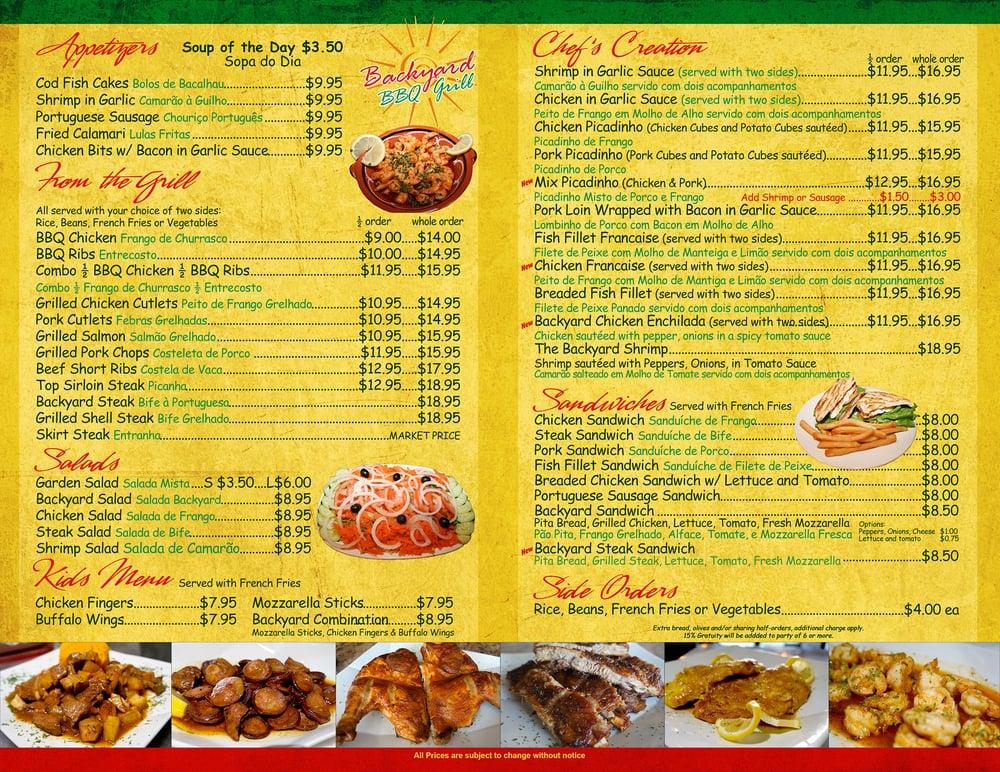photo of backyard grill kenilworth nj united states update menu