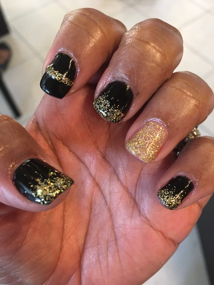 New Years Gel Manicure - Yelp