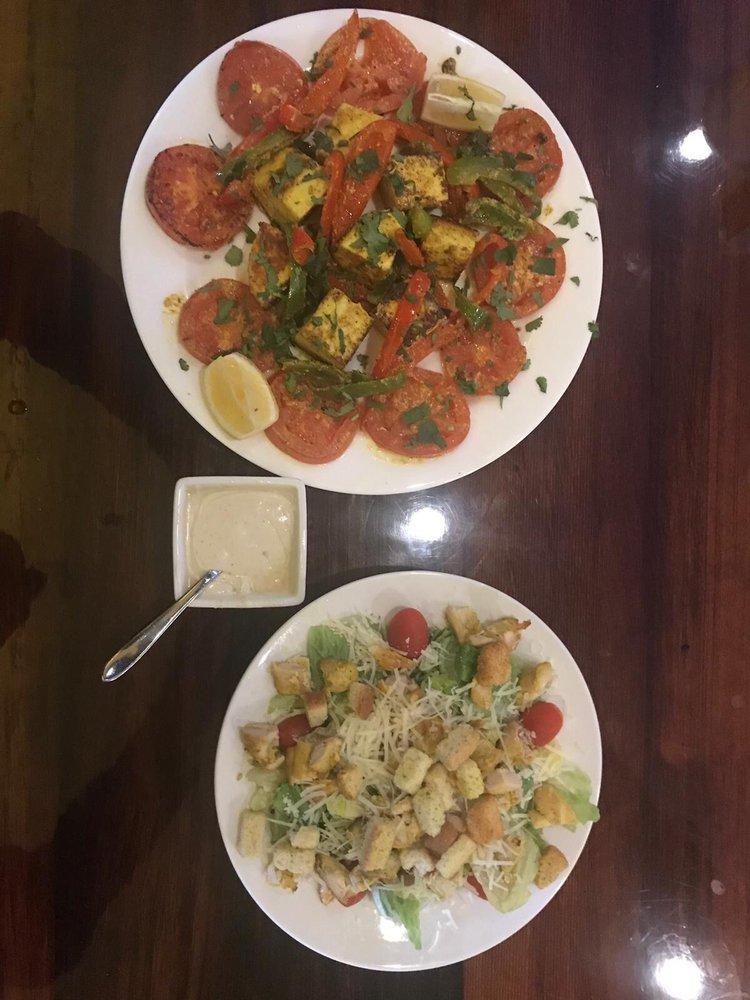 Food from Saffron Indian Restaurant & Bar