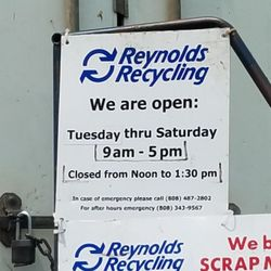 Reynolds Recycling - 13 Reviews - Recycling Center - 91-590