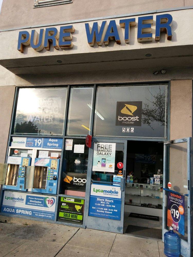 Aqua Spring: 506 Grand Ave, South San Francisco, CA