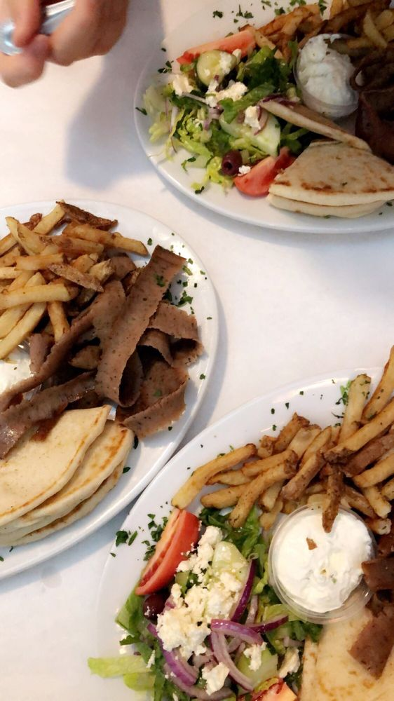 Food from Nostos Greek Restaurant Seafood and Grill