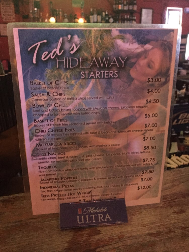 Ted s hideaway 37 photos 125 reviews sports bars for Ted s fish fry menu