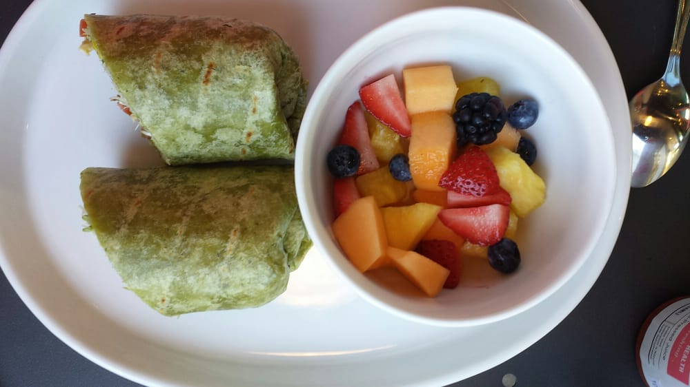 Wraps come w fruit you choose your wrap flava yelp for Unleavened fresh kitchen