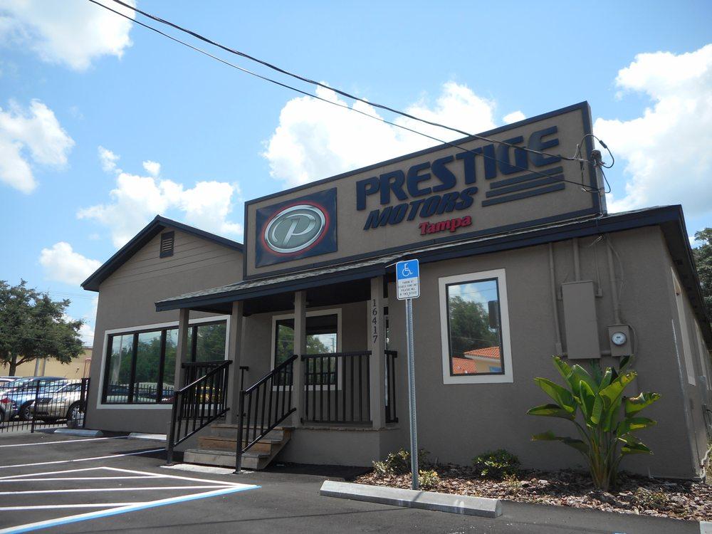 Prestige Motors Tampa 13 Photos Car Dealers 16417 N Florida Ave Lutz Fl Phone Number Yelp