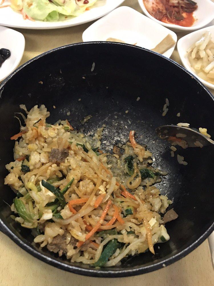 Photo Of Manna Korean Restaurant Davis Ca United States Food Is Bland