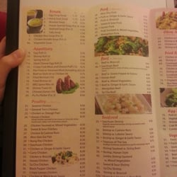 Asian Cafe Upper Marlboro Menu