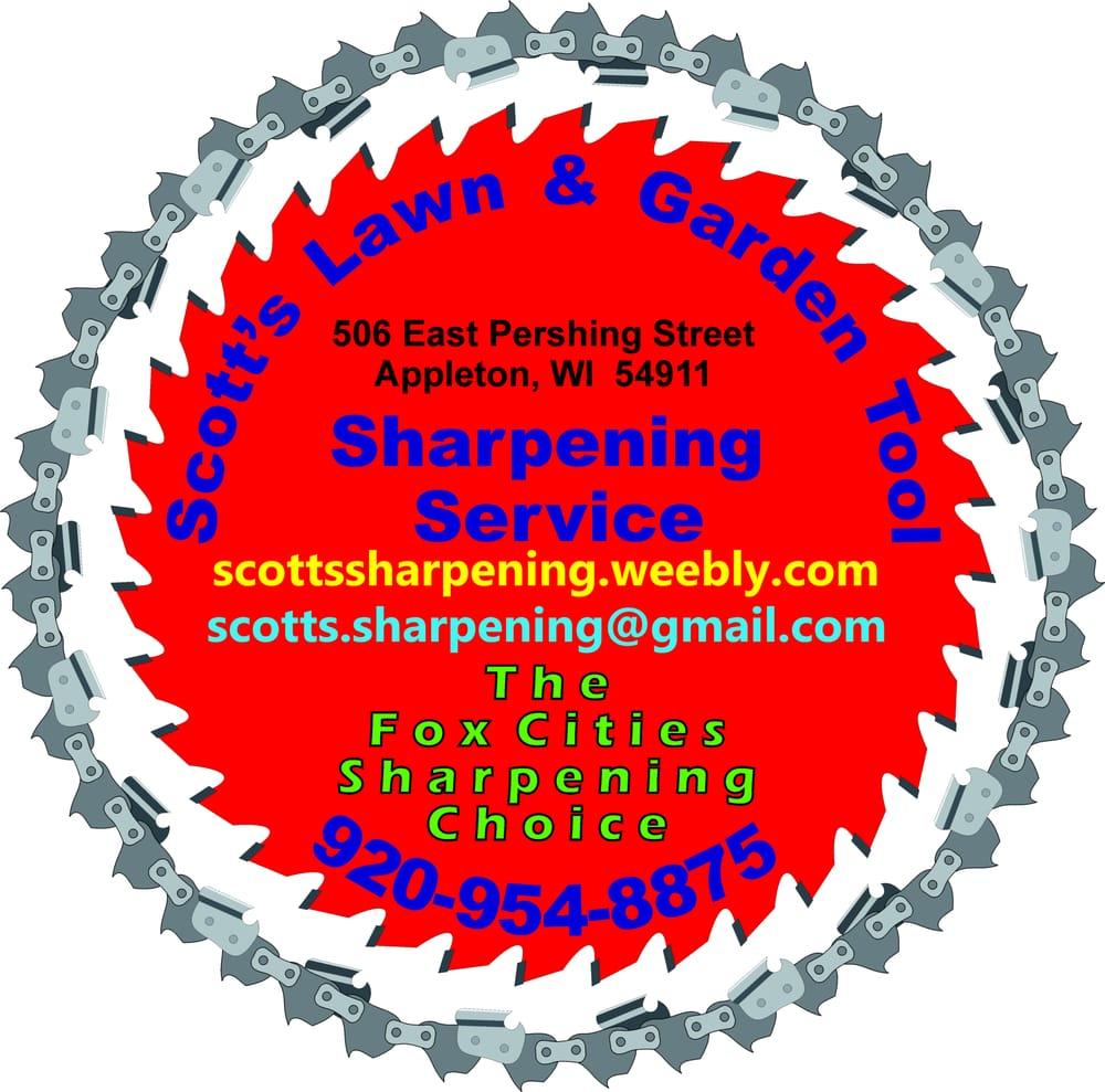 Scott's Lawn & Garden Tool Sharpening Service: 506 E Pershing St, Appleton, WI