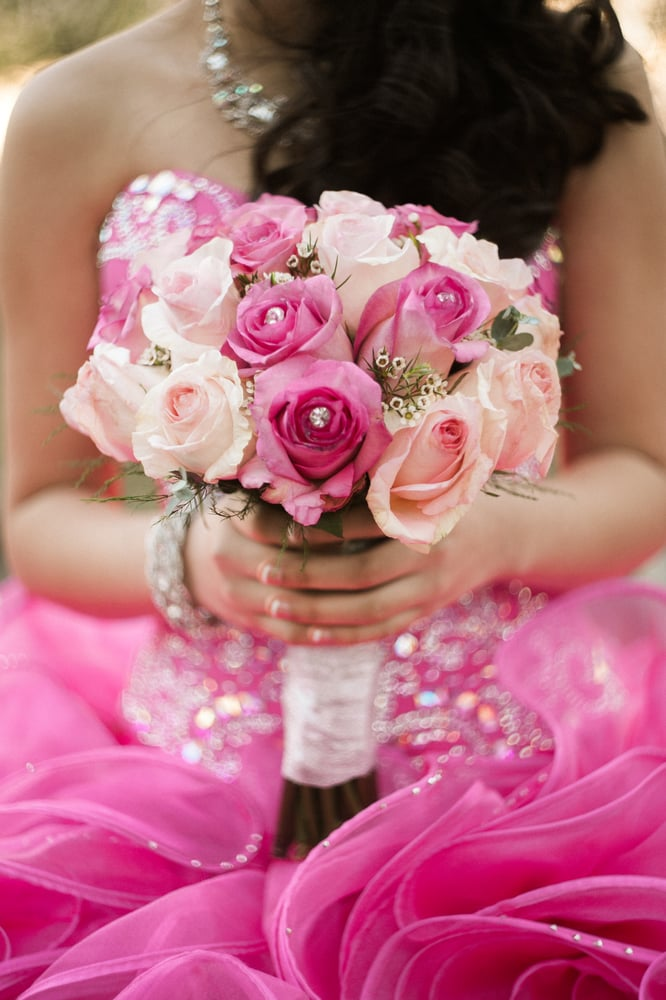 This was my daughter\'s Quinceañera bouquet...breath taking. May 23 ...