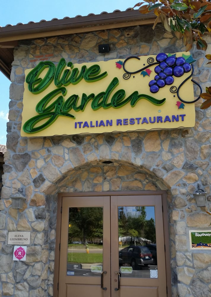 Olive Garden Across The Road From The Citrus Park Mall Yelp
