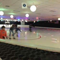 Roller skating aurora