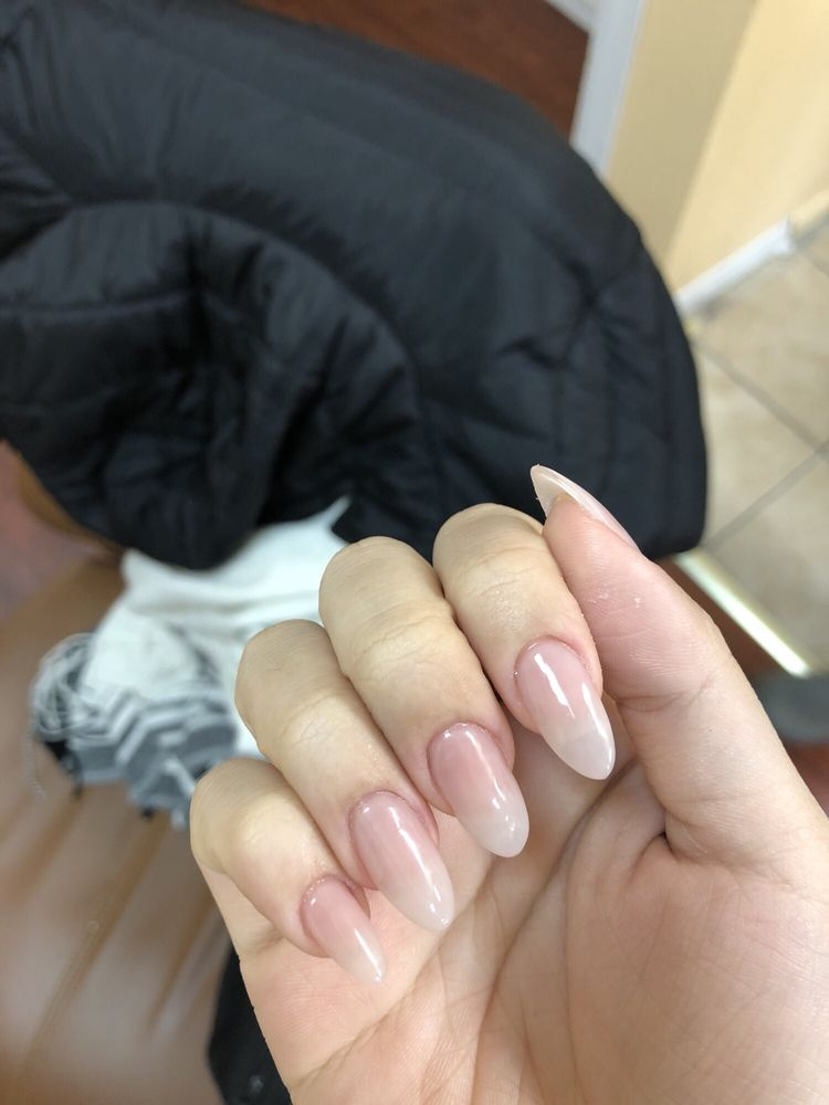 opi put it in neutral on top of almond acrylic nails - Yelp