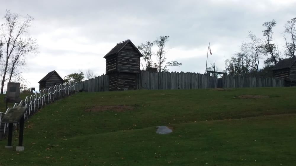 Prickett's Fort State Park: 106 Overfort Lane, Fairmont, WV