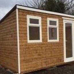 photo of brooklyn shed co belfast newtownabbey united kingdom garden office - Garden Sheds Belfast