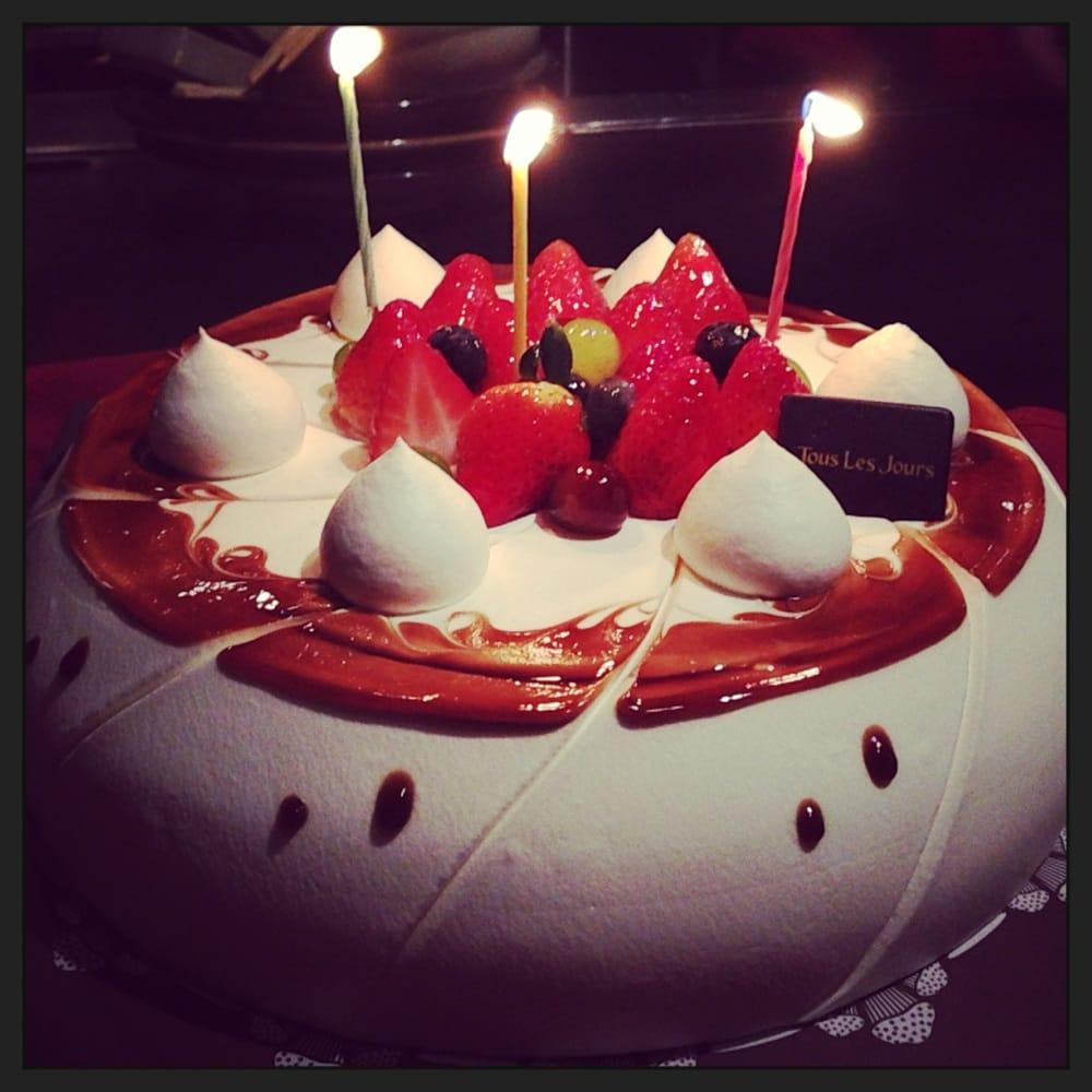 Instagram Birthday Cake Shot At Dinner Yelp