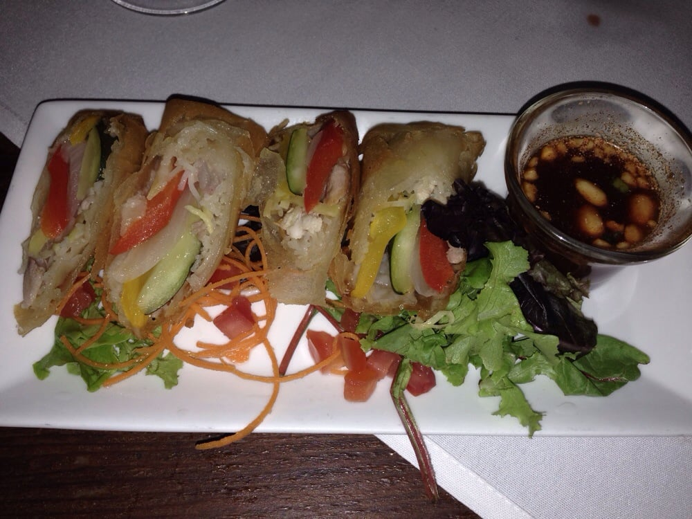 Spring roll yelp for Flying fish grill