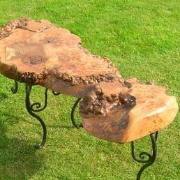 Photo Of Unique Wild Wood Furniture Kent United Kingdom Scottish Burr Elm Table