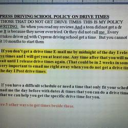 Cypress Driving School - 26 Reviews - Driving Schools - 8588