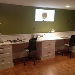 Photo Of Chicagoland Custom Closets   Skokie, IL, United States. Dual  Station Desk