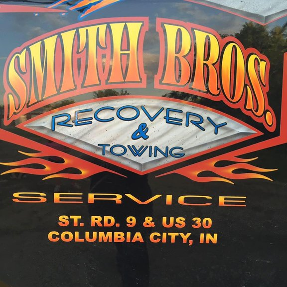 Smith Bros. Towing: 521 S Chauncey St, Columbia City, IN