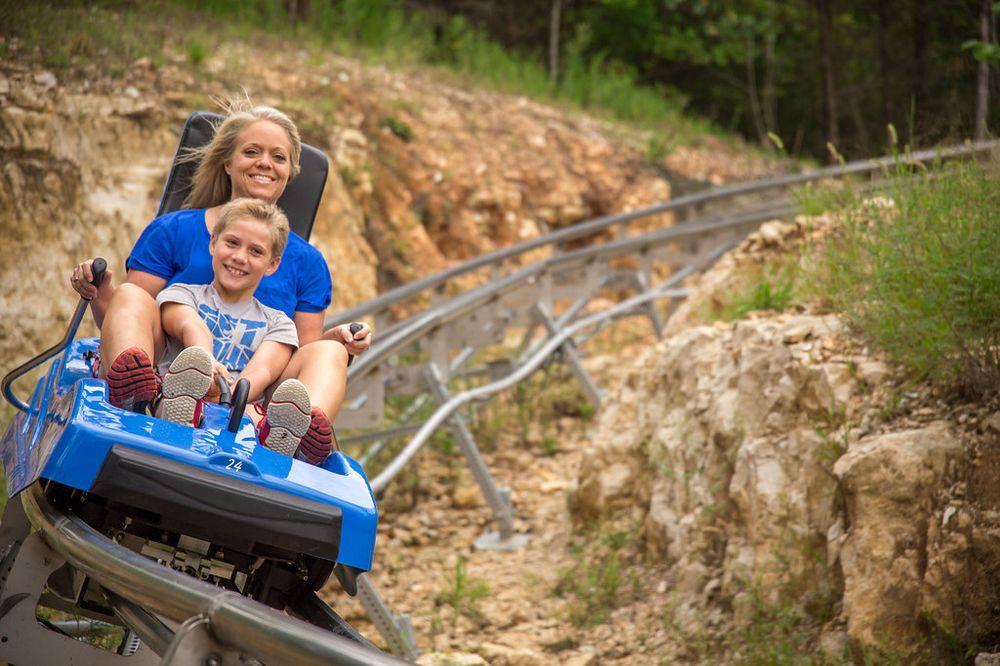 Social Spots from Runaway Mountain Coaster at Branson Mountain Adventure Park