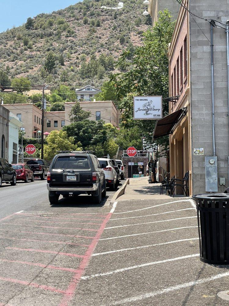 The Original Jerome Winery: 114 Jerome Ave, Jerome, AZ