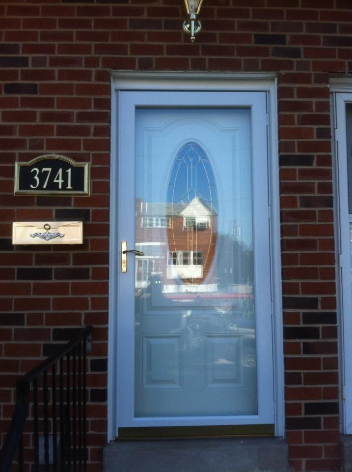 Front Door Install In Parkwood Oval Glass Front Entry Door With