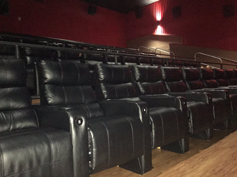 All recliner seats sweet yelp for Regal theater garden grove
