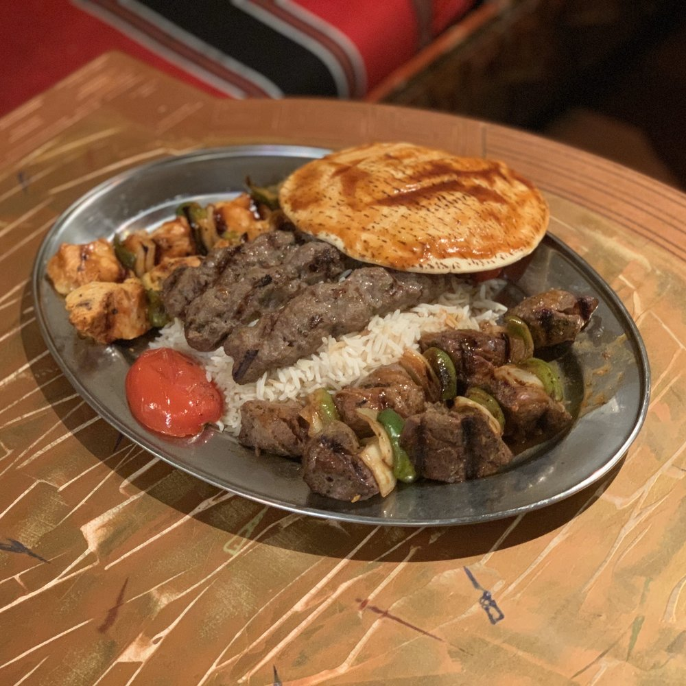 Food from Ali Baba Grill