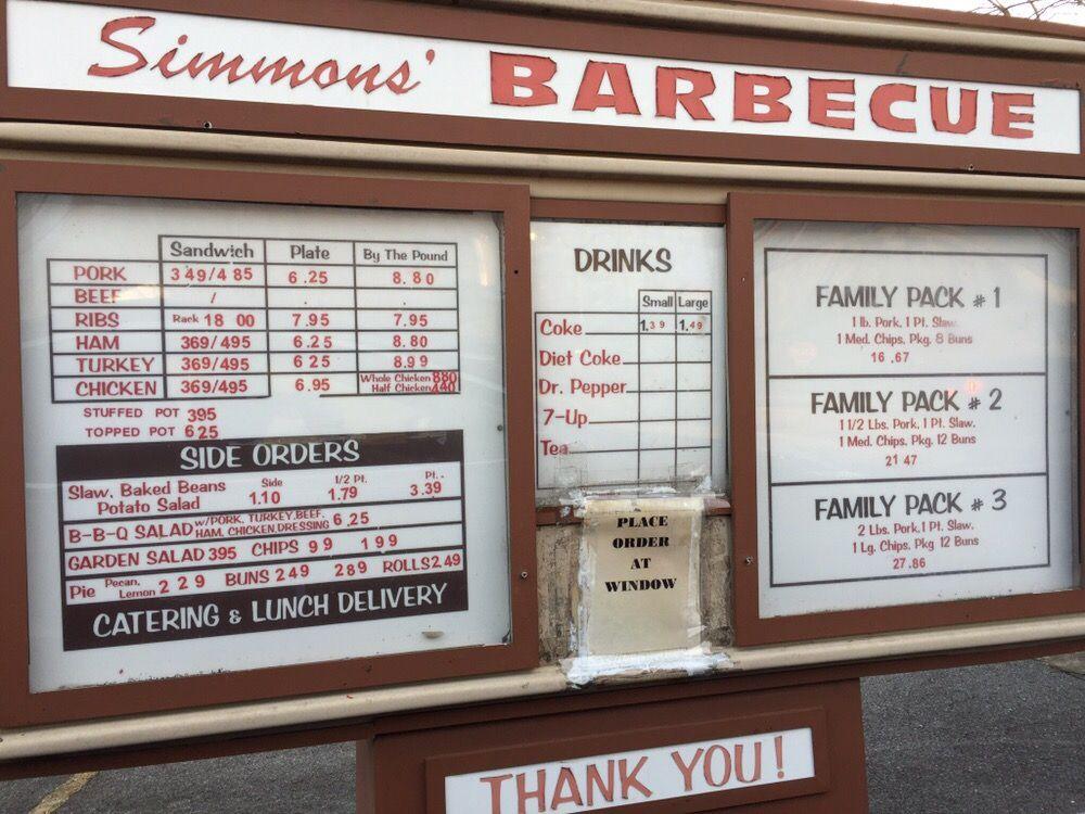 Simmons Bar-Be-Cue: 2200 Gilbreath St, Guntersville, AL