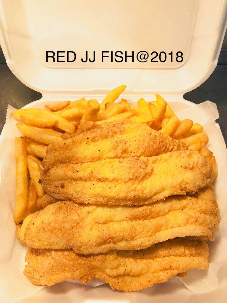 Red Jj Fish and Chicken: 4200 Rte 173, Zion, IL