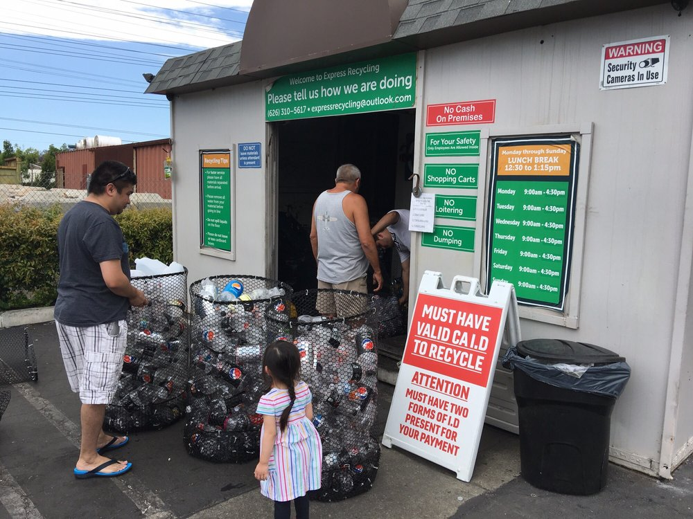 Express Recycling & Collections: 5615 Woodruff Ave, Lakewood, CA