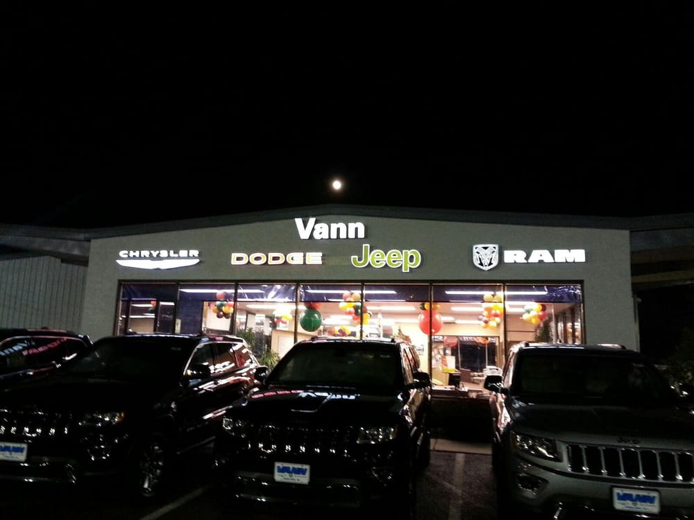 Vann Dodge Chrysler Jeep Motor Mechanics Amp Repairers