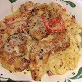 Photo of Olive Garden Italian Restaurant - Salisbury, MD, United States. Chicken and