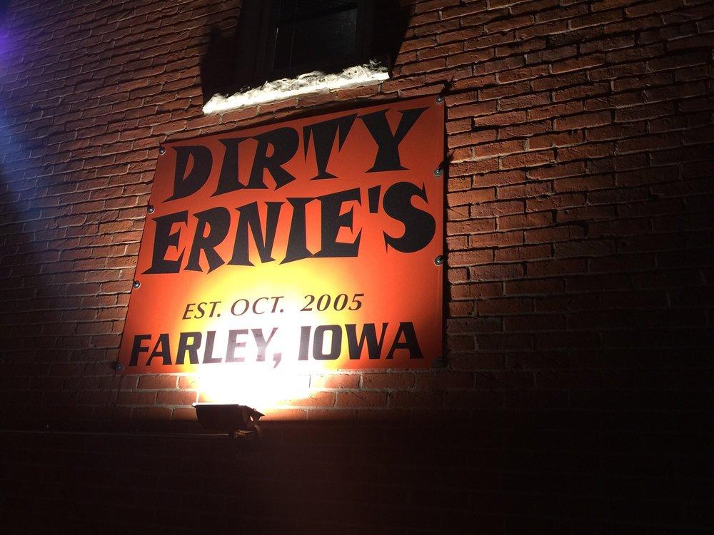 Dirty Ernies: 201 1st St NE, Farley, IA