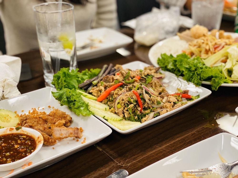 Asiannights Lao-Thai Cuisine & Bar: 2905 N Beach St, Haltom City, TX