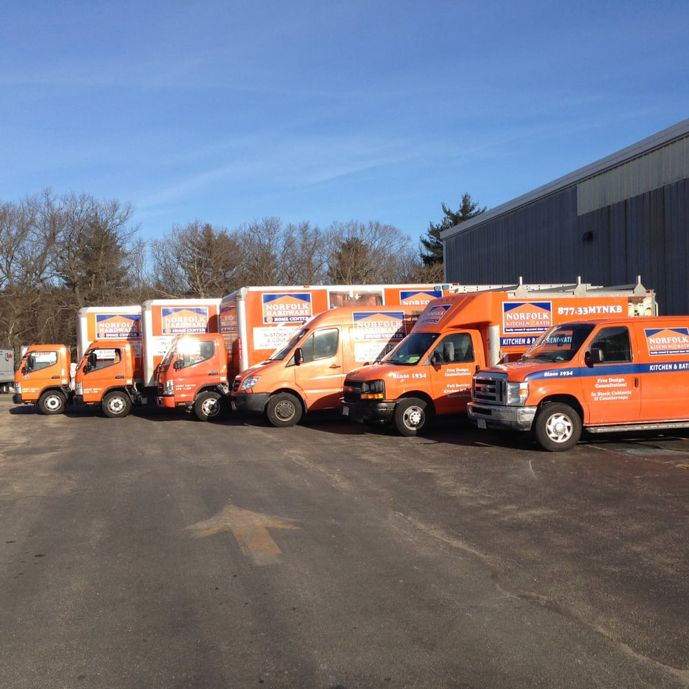 Our Fleet Of Delivery Trucks!