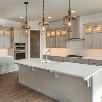 Open Kitchen, Island Sink, Full backsplash, Recessed lights ...