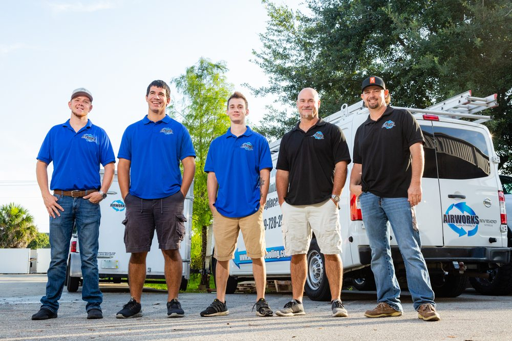 Airworks Cooling & Heating: 551 Owen Ave N, Lehigh Acres, FL