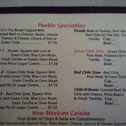San Felipe Travel Center Restaurant Menu