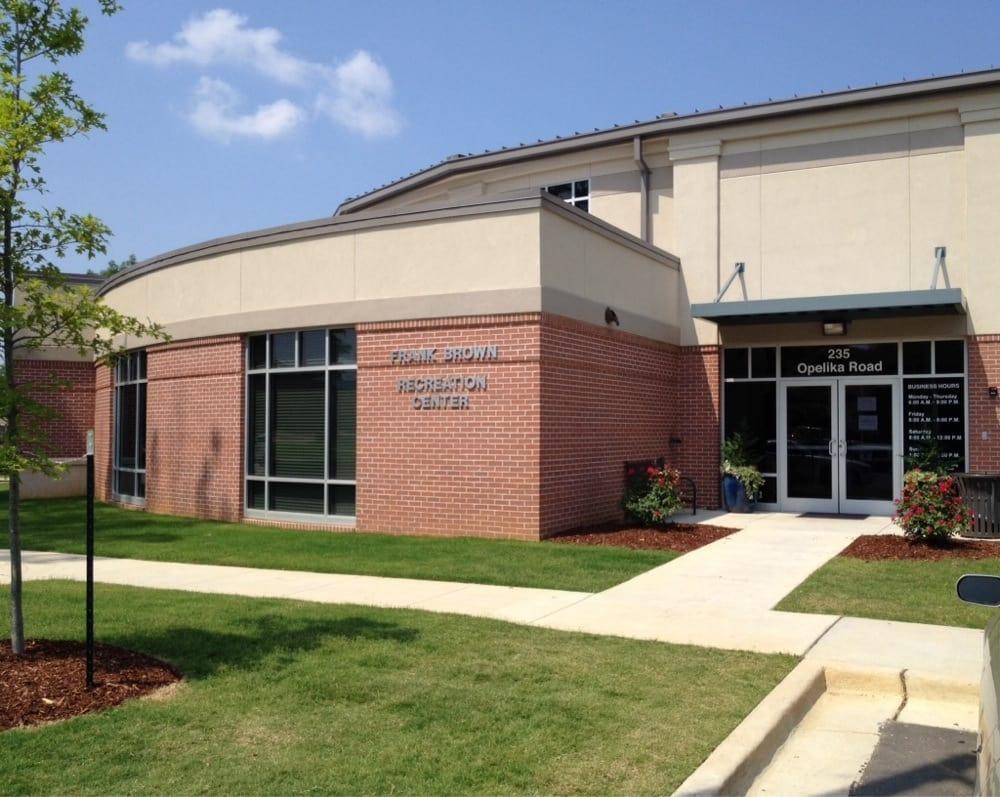 Frank Brown Recreation Center: 235 Opelika Rd, Auburn, AL