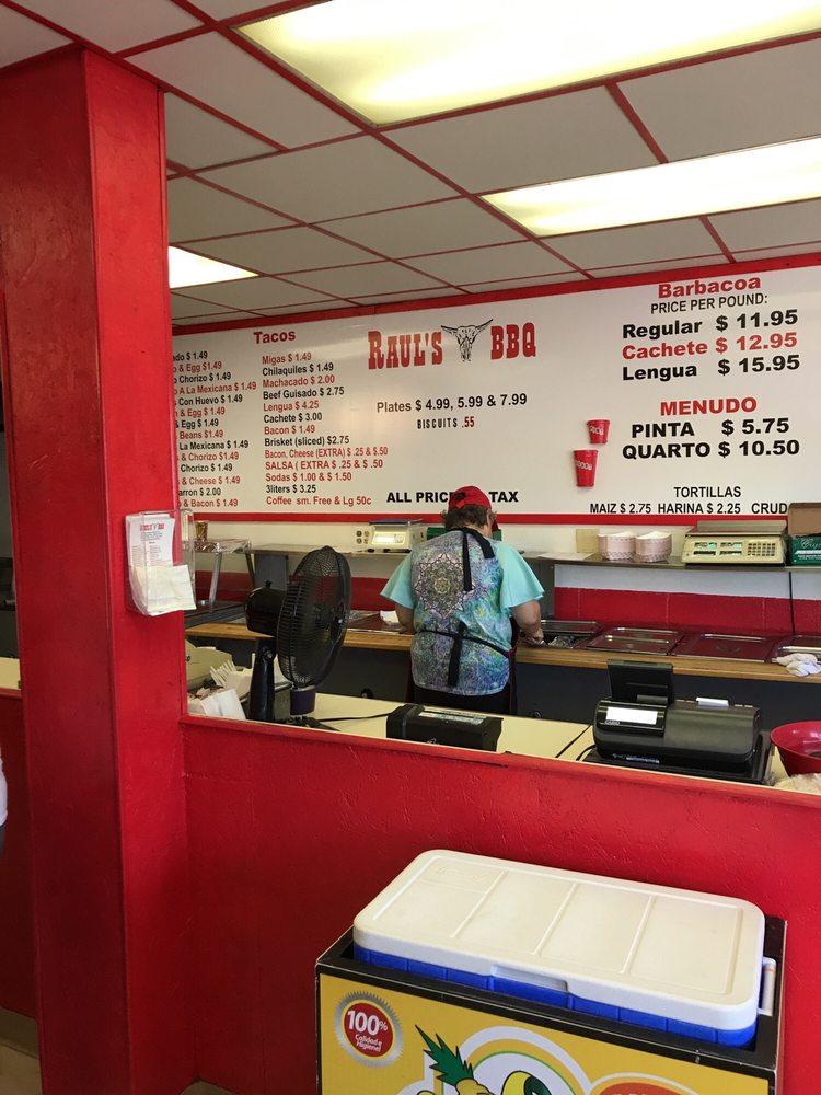 Raul's Bbq: 1820 S Zapata Hwy, Laredo, TX