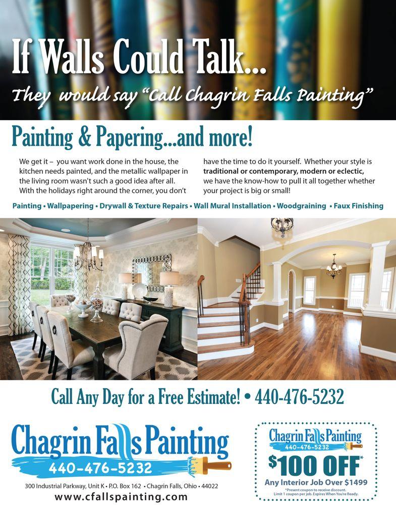 Chagrin Falls Painting: 547 E Washington St, Chagrin Falls, OH