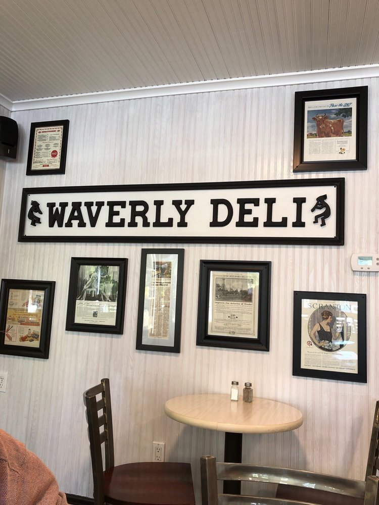 Food from Waverly Deli