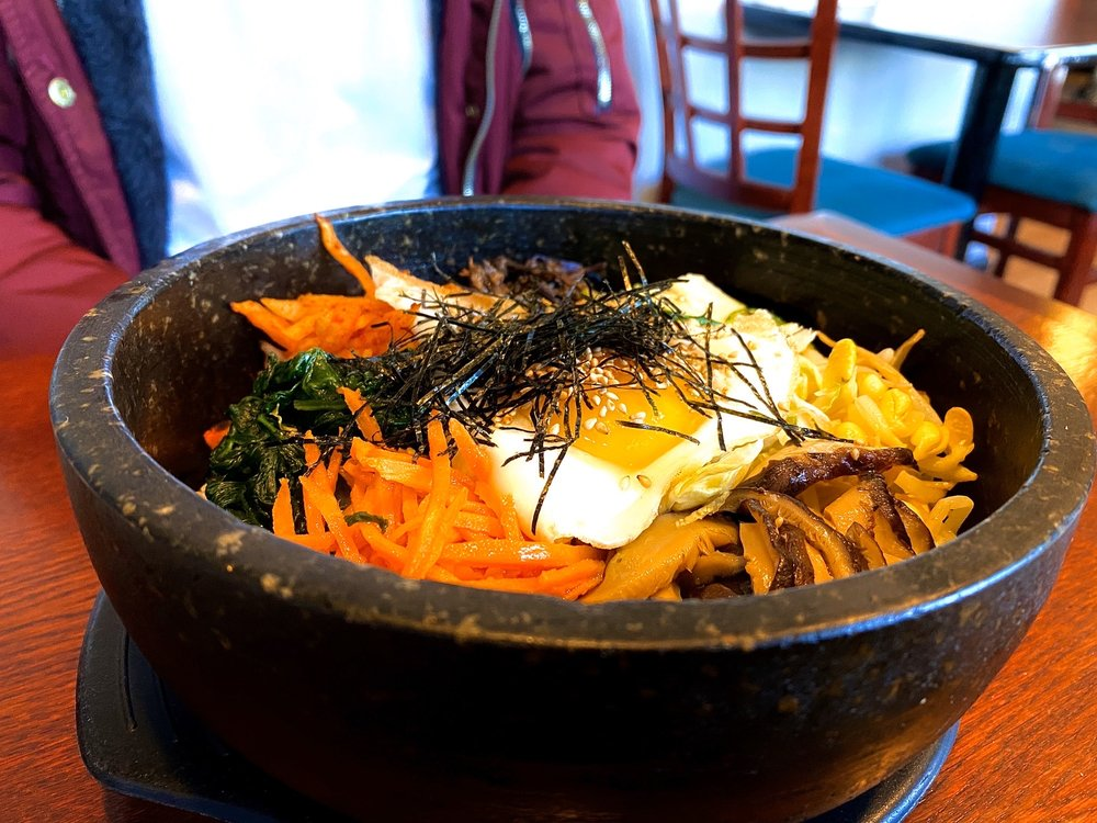 Food from Gohyang Korean Restaurant