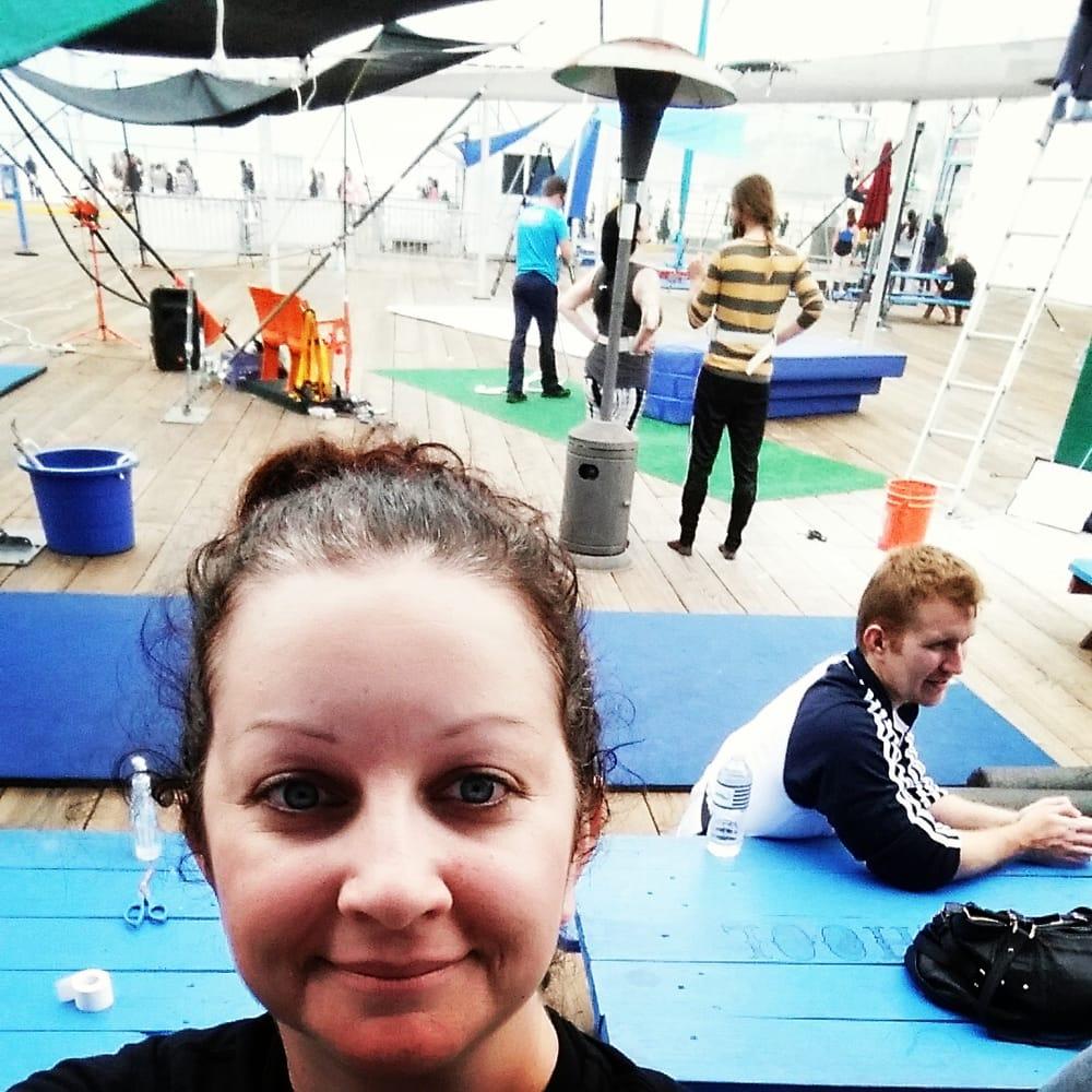 Trapeze School New York: 370 Santa Monica Pier, Santa Monica, CA