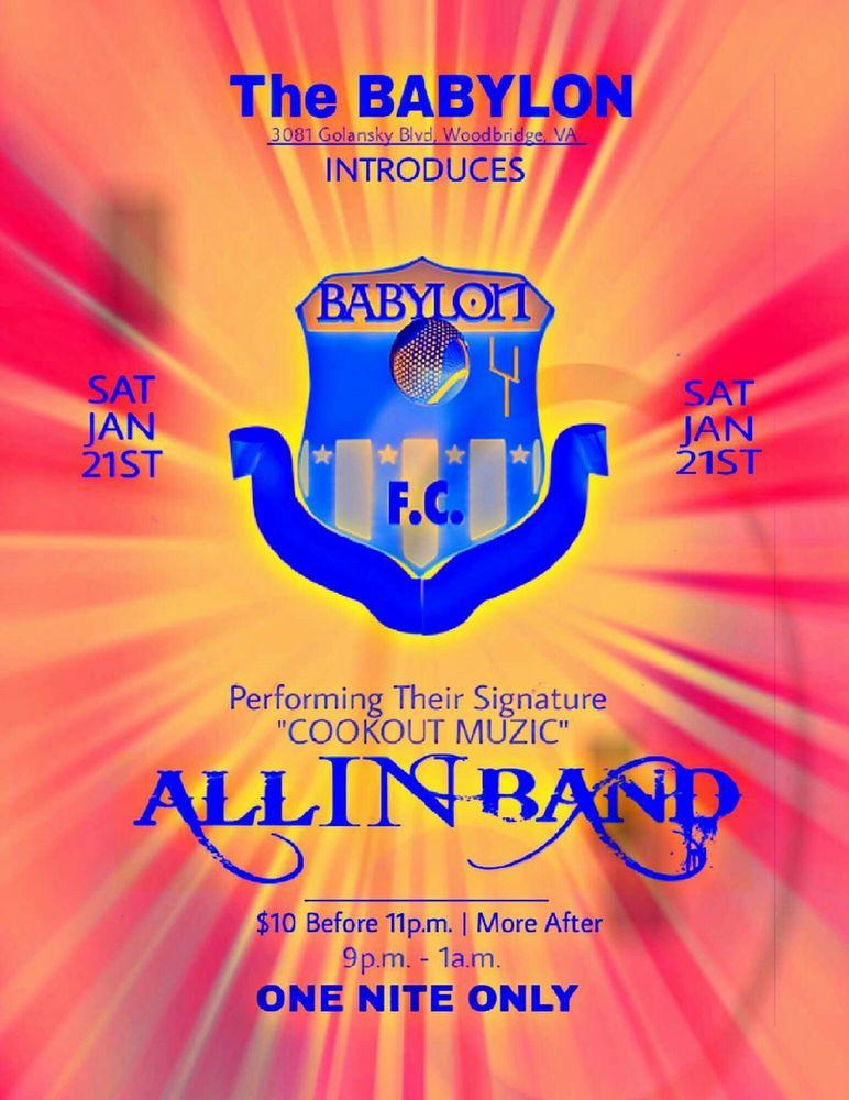 Babylon Fútbol Cafe: 3081 Golansky Blvd, Woodbridge, VA